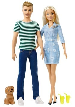 Barbie & Ken Doll Gift Set