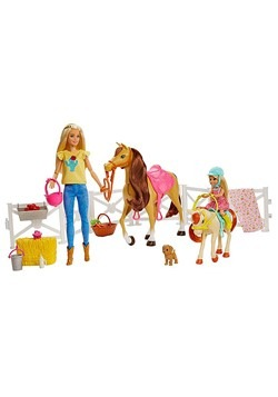 Barbie Hugs N Horses