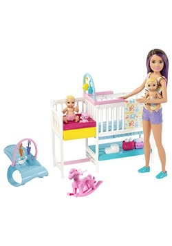 Barbie Skipper Babysitters Inc Nursery Playset update