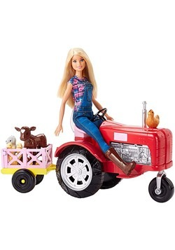 Barbie Farmer Doll & Playset
