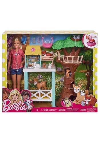 Barbie Doll Animal Rescue Playset