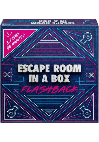 Mattel Escape Room in a Box Flashback