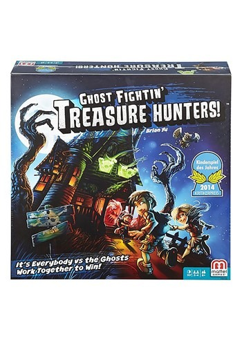 Ghost Fighting Treasure Hunters Board Game