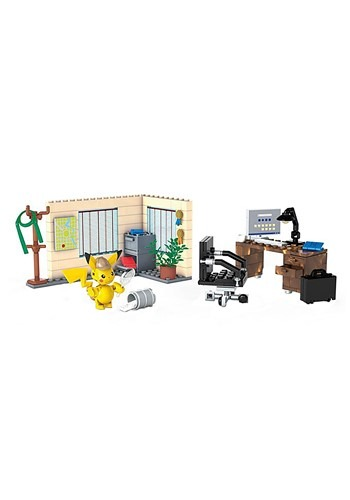 Detective Pikachu Office Playset from Mattel