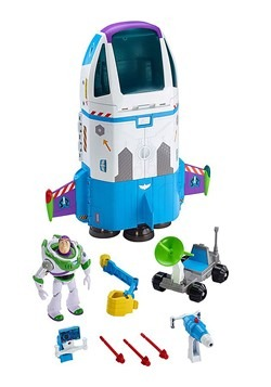 Toy Story Buzz Lightyear's Space Command Playset