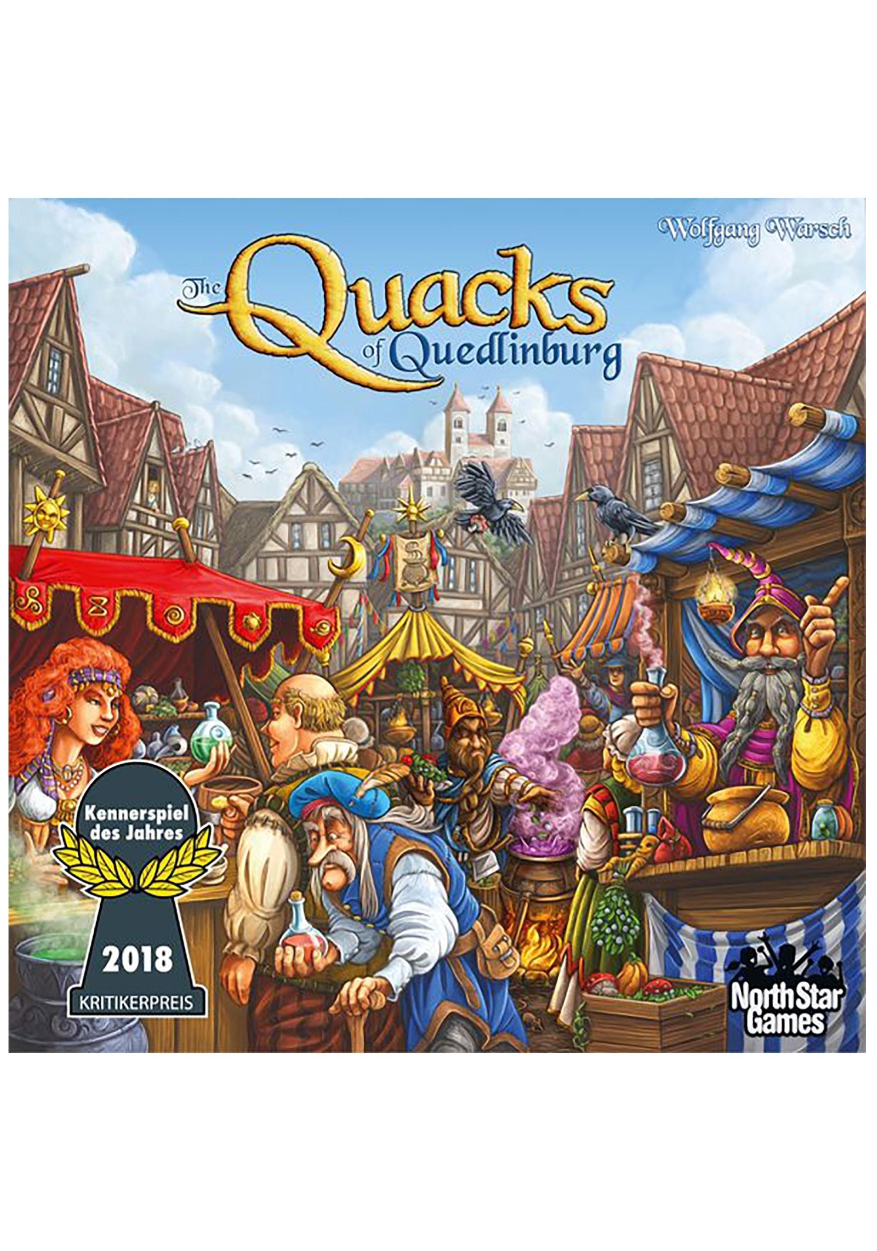 The Quacks of Quedlinburg: Board Game