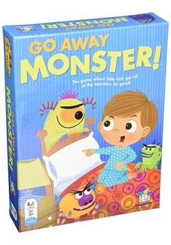 Gamewright Go Away Monster! Board Game