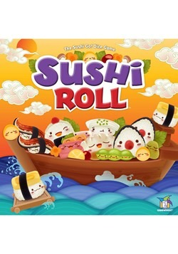 Gamewright Sushi Roll- The Sushi Go! Dice Game