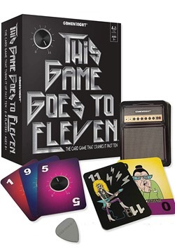 Gamewright This Game Goes to Eleven- The Card Game