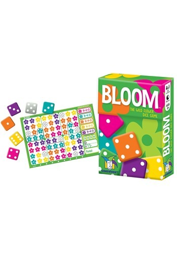 Gamewright Bloom- The Wild Flower Dice Game