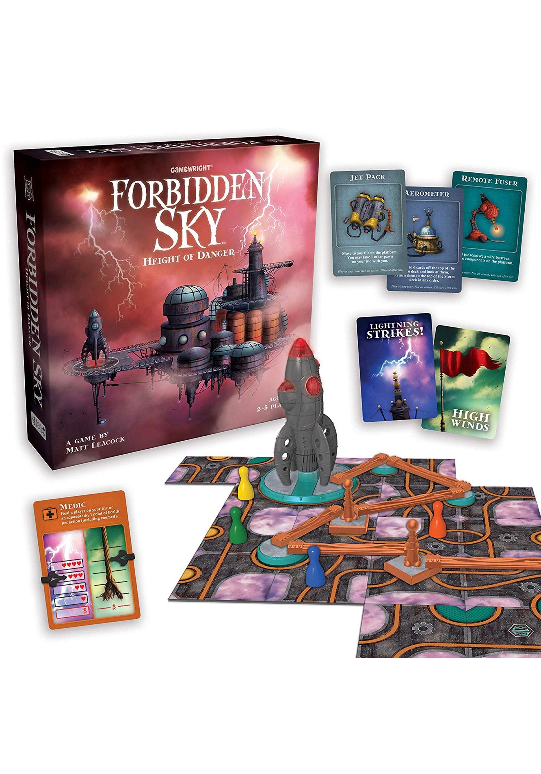 Gamewright Forbidden Sky- Height of Danger Game
