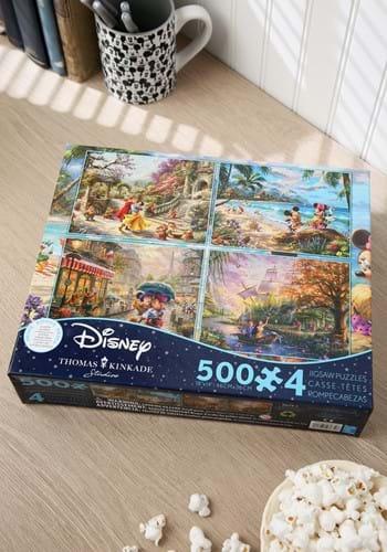 Thomas Kinkade Disney Dreams Collection 4-in-1 Puz