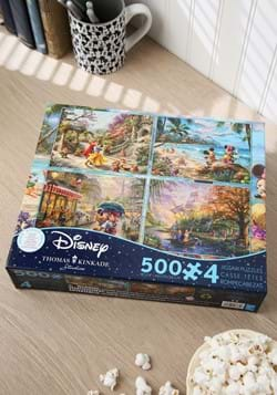 Thomas Kinkade Disney Dreams Collection 4-in-1 Puz-1