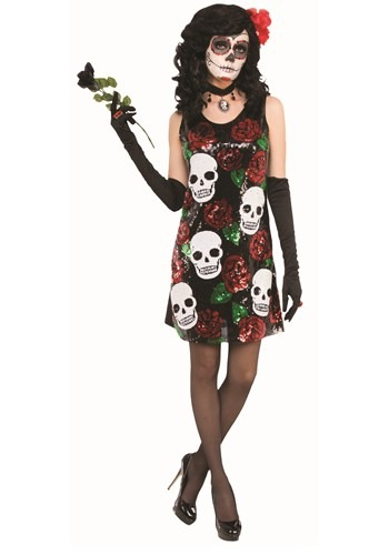 Day of the Dead Women's Sequin Dress