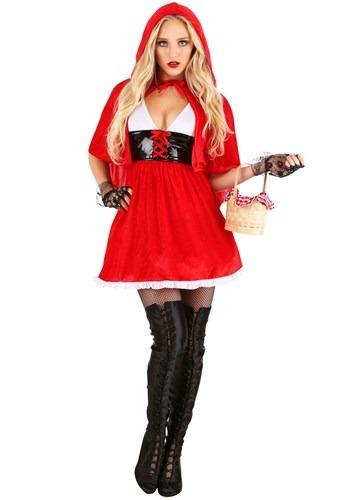 Women's Red Hot Riding Hood Costume Main