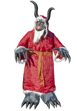 Animated Inflatable Krampus Decoration