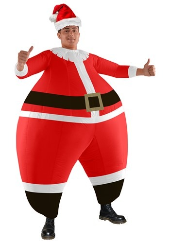 The Adult Santa Bouncer Costume
