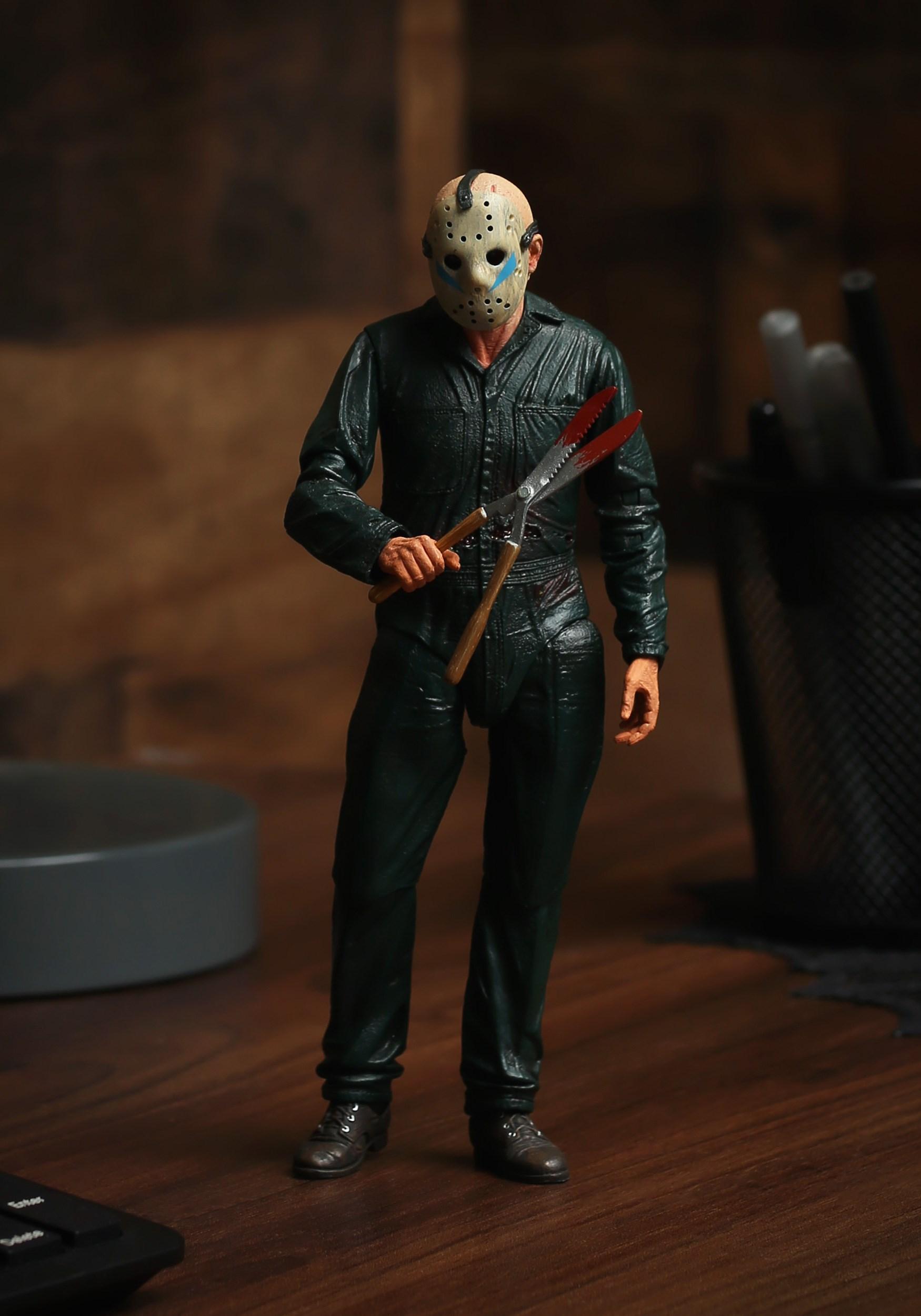Roy Burns Jason 7 U0026quot  Scale Action Figure Friday The 13th Part 5