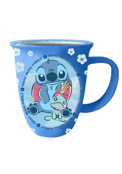 Stitch and Scrump Ohana 16oz Wide Rim Ceramic Mug