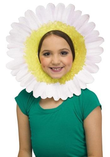 Daisy Headpiece White