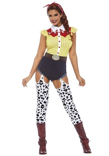 The Women's Toy Cowboy Costume