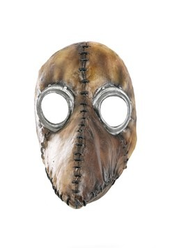 Distressed Brown Plague Doctor Mask