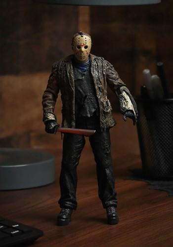 7 Scale Freddy vs Jason Action Figure Ultimate Jason Update