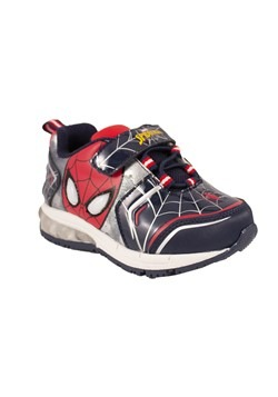 Spiderman Black & Red Lighted Kids Sneaker