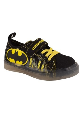 Kid's Batman Lighted Canvas Shoe