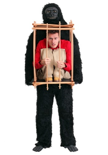 Man in a Gorilla Cage Adult Costume-update1