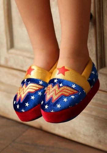 Wonder Woman Logo Kids Slipper Update