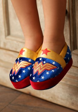 Wonder Woman Logo Kids Slipper Update