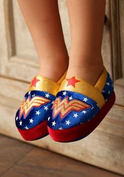 Wonder Woman Logo Kids Slipper