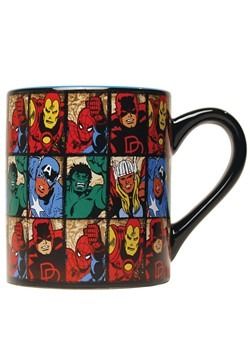 Marvel Comics Grid 14oz Ceramic Mug