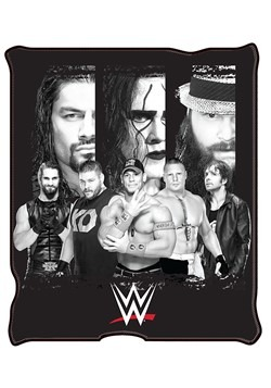 WWE All Stars Group Fleece Throw 50x60in