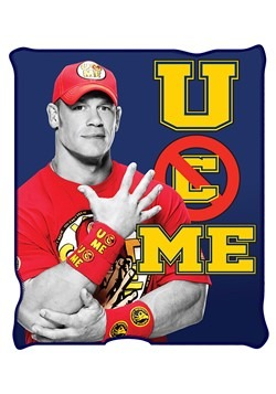 WWE John Cena Fleece Thow 50x60in