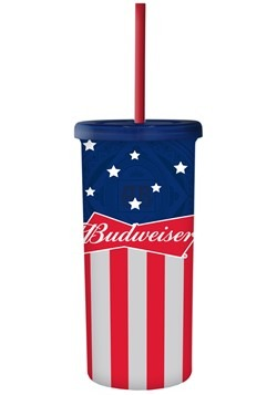 Budweiser 20oz Tall Travel Tumbler