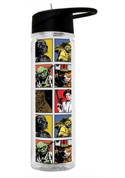 Star Wars Grid 550ml Double Walled Tritan Water Bottle
