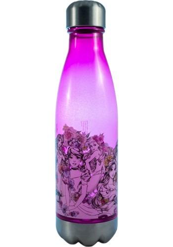 Disney Princesses 600ml Plastic Curved Water Bottle