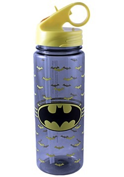 Batman All Over Logo 20oz Tritan Water Bottle