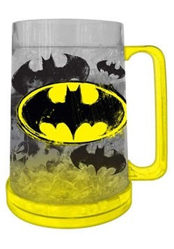 DC Comics Batman Logo 16oz Freeze Gel Plastic Mug