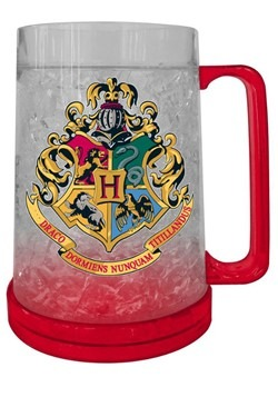 Harry Potter Hogwarts Crest 16oz Freeze Gel Plastic Mug