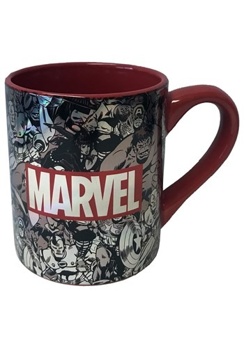 Marvel 14oz Laser Print Ceramic Mug