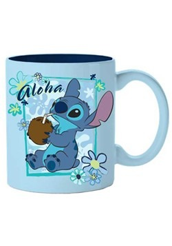 Stitch Aloha Coconut 14oz Ceramic Mug