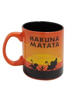 Lion King Hakuna Matata 20oz Jumbo Ceramic Mug