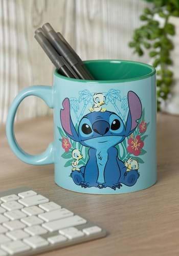 Stitch Floral Ducks 20oz Jumbo Ceramic Mug-Update