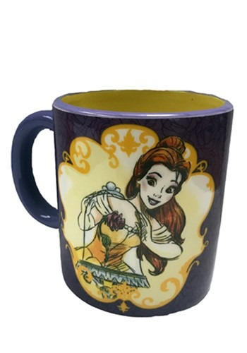 Beauty & the Beast Belle and Friends 20oz Spinner Mug