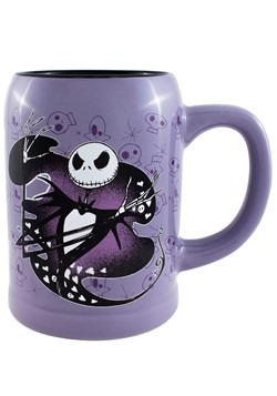 Nightmare Before Christmas Jack Hearts 22oz Ceramic Stein Mu