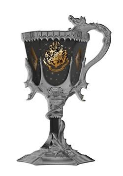 Harry Potter Hogwarts Gold Crest Sparkles Goblet