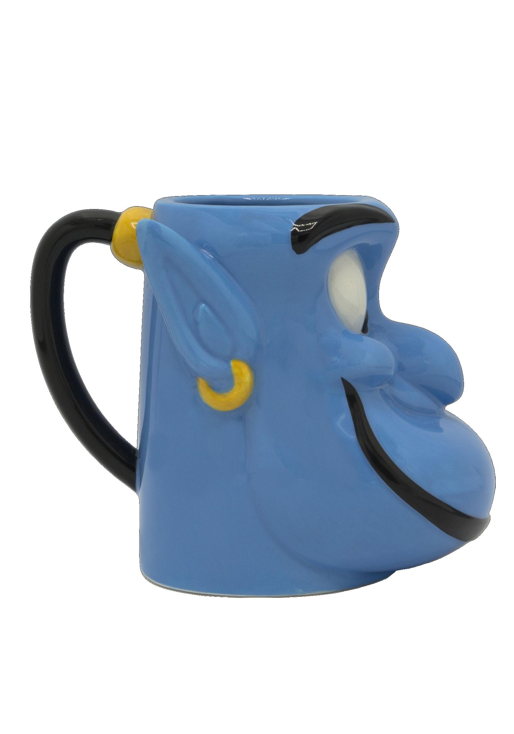Disney Aladdin Genie Sculpted Coffee Mug